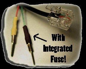 "8"" Fused Micro Invisicord for Escorts, Beltronics, and Valentine 1"