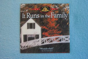 It Runs in the Family (Brand New DVD)