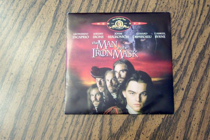 The Man in the Iron Mask (Brand New DVD)