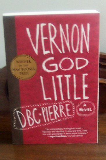 Adult Softcover Fiction: Book:  Vernon God Little