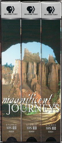 Magnificent Journeys (3 VHS Tape Set)