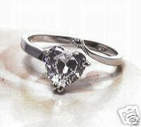 1.CT HEART  PRINCESS RING FOR THAT SOME ONE SPECIAL
