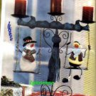 santa and frosty candle swinging holder  to cute