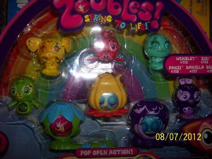 Zoobles Gift Pack M01 NEW A MUST SEE FREE SHIPPING WITH BUY IT NOW PRICE