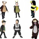 NEW NINJA/MONKEY/BEE/PUPPY/DRAGONS COSTUMES TODDLERS AND INFANTS FREE SHIPPING