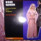 NEW  Women's Adult  Rose Queen Medieval    Costume One Size