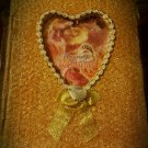 shimmer gold marriage acceptance keepsake book/BOX FROM THE BRIDES PARENTS