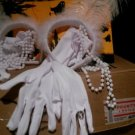 Kids halloween costumes accessories flapper set NEW
