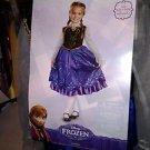 Disney Frozen Deluxe Anna  / Child Costume New