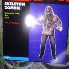 Mens Zombie Skeleton Costume Monster Adult mens osfm new