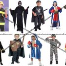 SREAM BLEEDIN MASK COSTUME/ARMY/KNIGHTS/BOXERS /FIRE FIGHTERS/ lot COSTUMES NEW