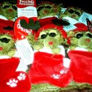 American Greetings Twisted Whiskers Christmas Gift Card Holder  w/buldgING EYES