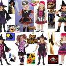 girls Punky Pirate sassy costumes new