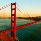 "METAL Golden Gate Bridge DECOR19¼"" x 9"" x18H BEAUTIFUL PC 4 DISPLAYS & MOR NW"