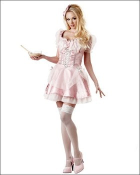 womans costumes Pink Highlighter Adult Costume NEW