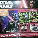 2 New Disney Darth Vader Star Wars Glow In The Dark Sticker Kids Activity  Set