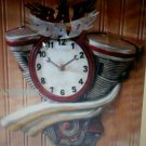 bad dad clock THIS MUSCLE CLOCK HANG IT IN THE OFFICE ,GARAGE GREAT GIFT 4 DADS