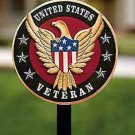 ARE TROOPS DESERVE THIS IN EVERY HOME HOME OF THE BRAVE USA Wooden yard stake