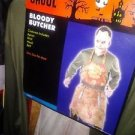 BLOODY BUTCHER, HALLOWEEN COSTUME, TEXAS CHAINSAW MASSACRE NEW OSFM MEN