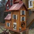 Large Primitive Mustard Bird Homestead
