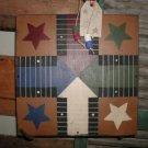 Primitive Star Parcheesi Board