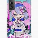 Aesthetic Cute anime smug little girl Samsung Galaxy Phone Case