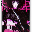 Aesthetic Cute Anime Smug Cyberpunk Girl waifu -- 666 Samurai iPad Case & Skin