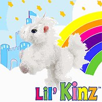 Webkinz Lil'Kinz Unicorn-Retired