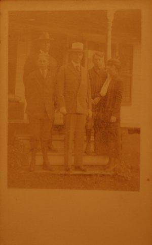 Coolidge Family RPPC