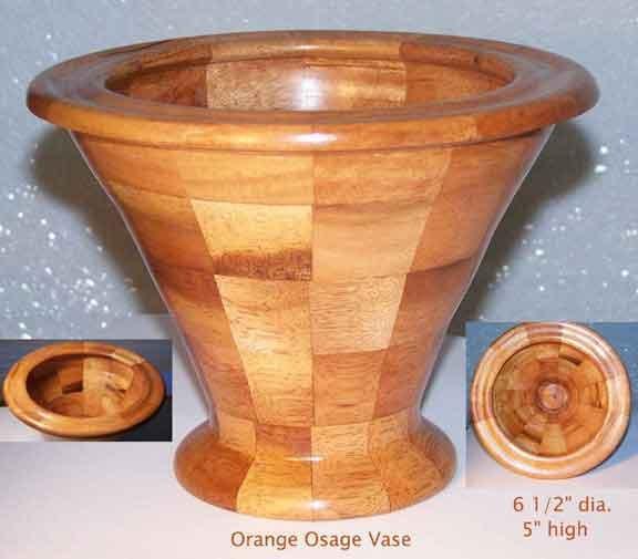 Osage Orange  Vase