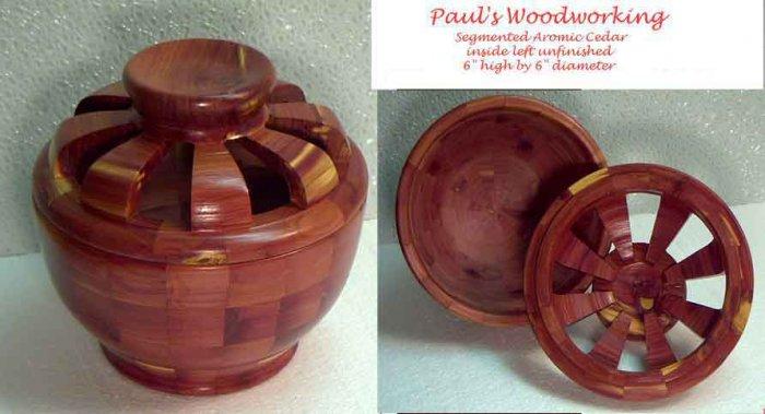Aromatic Cedar Potpourri Dish