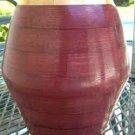 PurpleHeart Vase