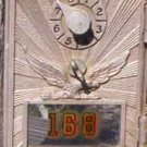 Post Office Box door Eagle with sun rays (small)