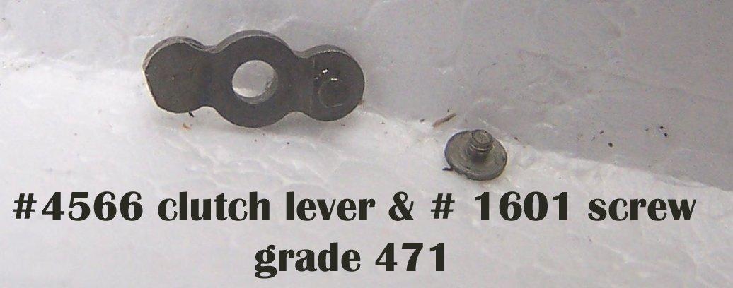 #4566 clutch lever  & screw