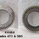 #4464 main wheel & hub for grades 471 & 505
