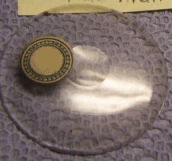 18 2/16 Ligne or 409mm Bulls Eye  Watch crystal
