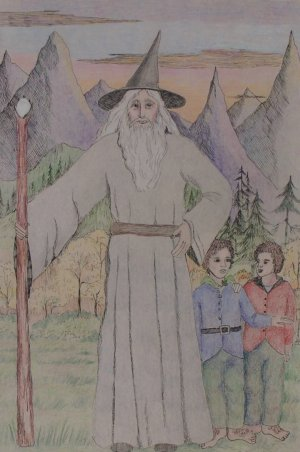 Gandalf and the Hobbits