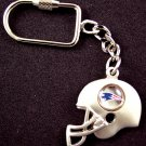 NE Patriots Cast Helmet Style Keychain with Logo