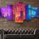 Metroid Wall Art Framed / Super Metroid Canvas / Video Game Prints 5 Piece