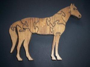 Wooden Horse Puzzle