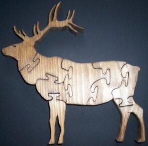 Wood Elk Puzzle