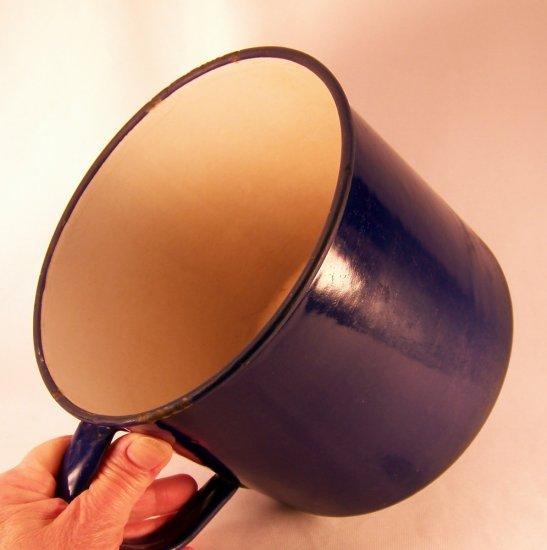 Vintage Paul Bunyan Enamelware Mug