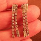 Vintage Rhinestone Stud Earrings