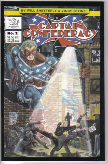 Captain Confederacy 2 - SteelDragon Press - 1986