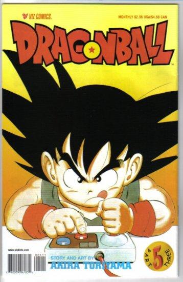 Dragonball Part 3 #5 Special Manga-Style Edition Akira Toryama Viz Comics October 2000