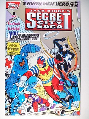 Jack Kirby's Secret City Saga 1 Topps Comics May 1993