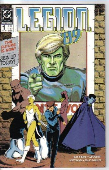 L.E.G.I.O.N. '89 1 DC Comics February 1989 Keith Giffen, Alan Grant