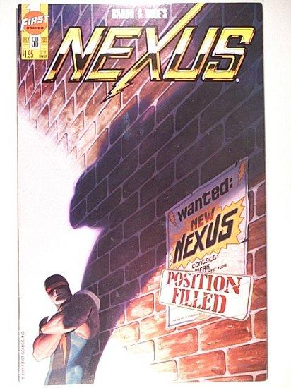 Nexus v2 58 First Comics July 1989 Baron & Rude
