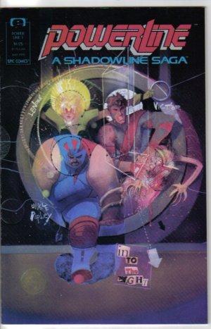 Power Line 1 Epic Comics May 1988