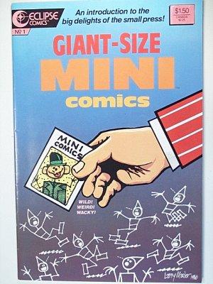 Giant-Size Mini Comics 1 August 1986 Eclipse Comics